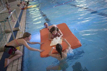 schoolreisje met activiteiten bij zwembad de IJzeren Man