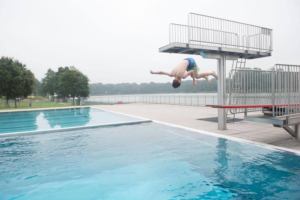 Ijzeren Man Weert.Foto Impressie Zwembad De Ijzeren Man