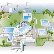 zwembad weert plattegrond