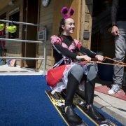 vrijgezellenfeest voor vrouwen bij zwembad en waterskibaan de IJzeren Man