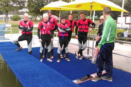 bedrijfsuitje bij zwembad en waterskibaan de IJzeren Man