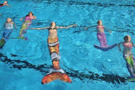 Zeemeermin kinderfeestje zwembad de IJzeren Man