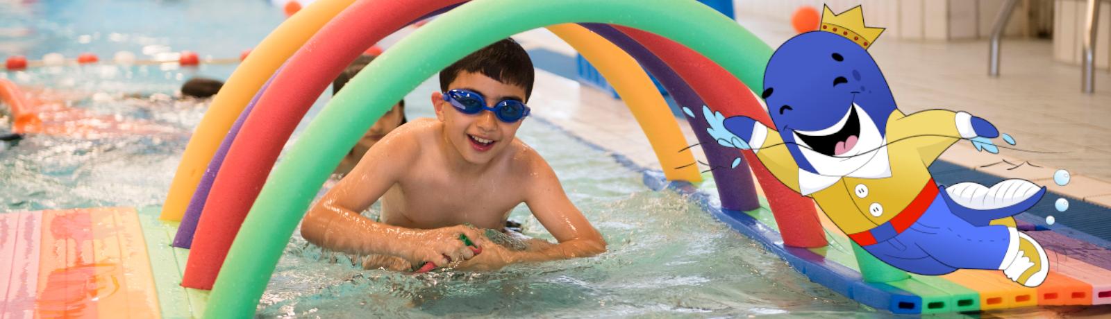 Zwembad de IJzeren Man Bliss de Walvis